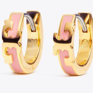 🔥Tory Burch Enamel glaze simple round earrings